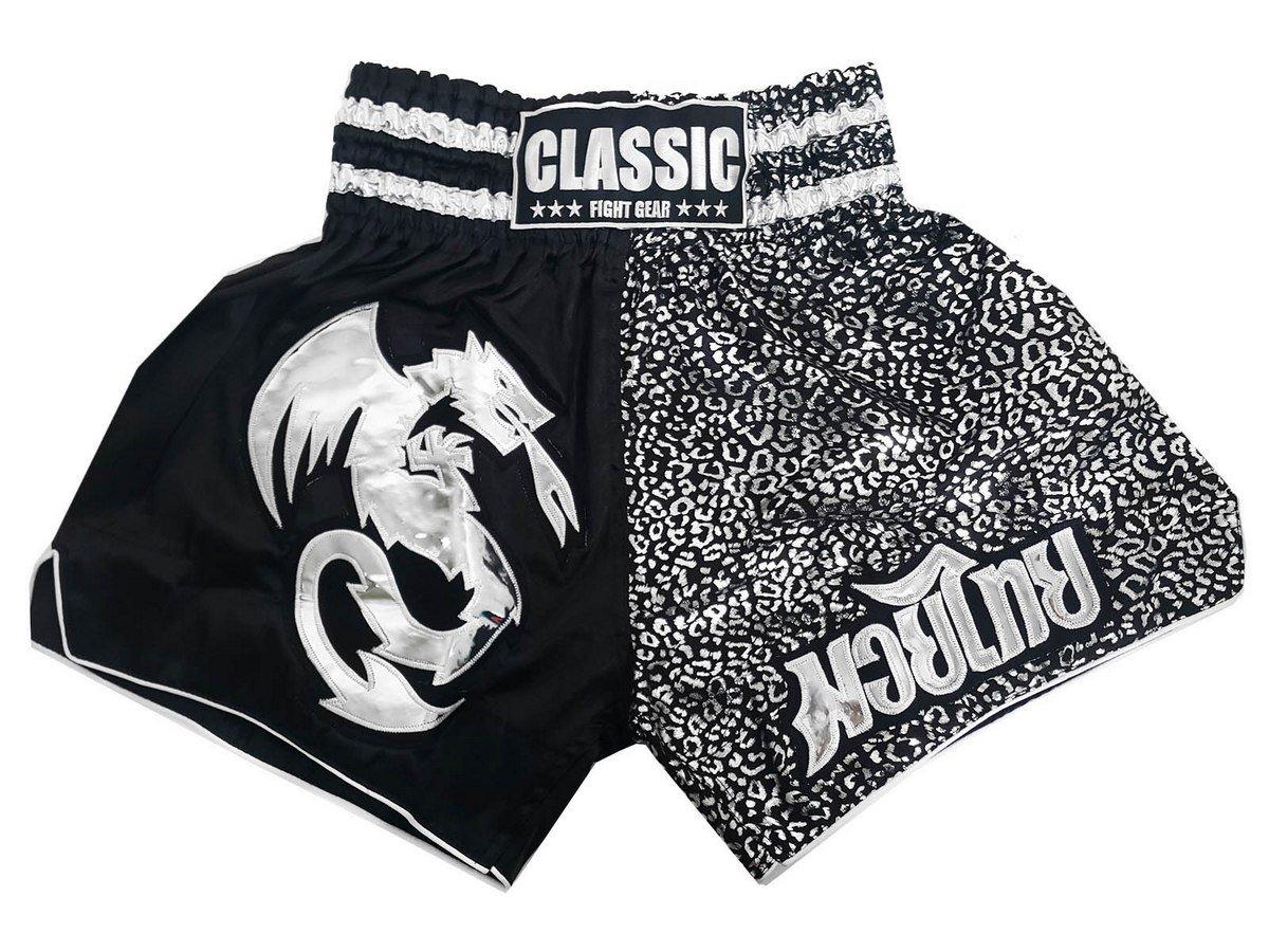 Classic Muay Thai Kick Boxen Hosen Shorts : Spirit Dragon