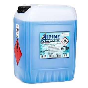 Alpine - Anticongelante para lunas concentrado (-60 °C , 20 l): Amazon.es: Coche y moto
