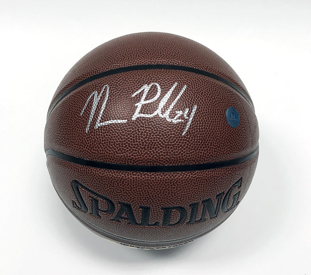 Norman Powell Autographed Spalding NBA I/O Basketball - Toronto Raptors A.J. Sports World