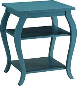 ACME Furniture 82832 Becci End Table, One Size, Teal