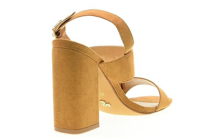 GOLD & GOLD Scarpe Donna Sandali ES222 Cammello Taglia 35 Cammello Excelente Barato Vfr6QRzj