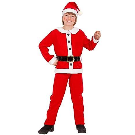 Vestito Babbo Natale bimbo bambini costume  Amazon.it  Giochi e ... 98f4b64a8c2