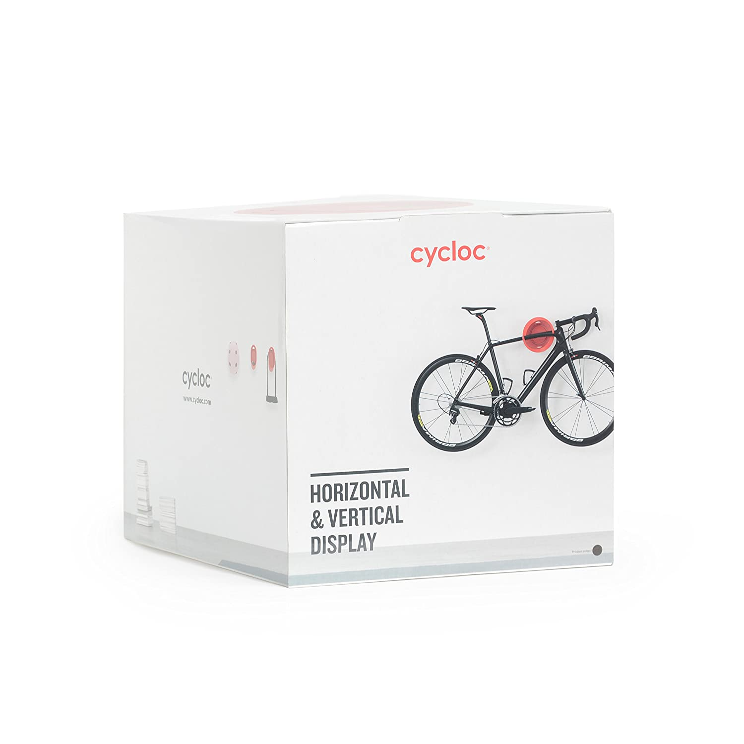 Cycloc Solo Elegant Wall Mount Bike Display And Storage Rack Multiple Colour Options Available