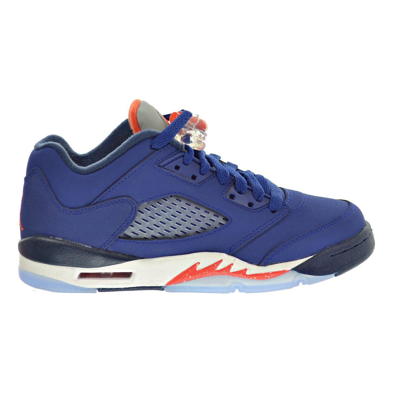 new arrival 6b02a 18687 Amazon.com   Jordan Air 5 Retro Low (GS) Big Kid s Shoes Blue Orange White  314338-417   Sneakers
