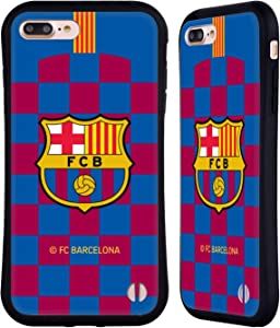 Head Case Designs Officially Licensed FC Barcelona Home 2019/20 Crest Kit Hybrid Case Compatible with Apple iPhone 7 Plus/iPhone 8 Plus