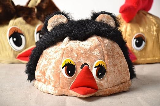 Gorro para de disfraz para niños erizo hecha a mano: Amazon.es: Hogar