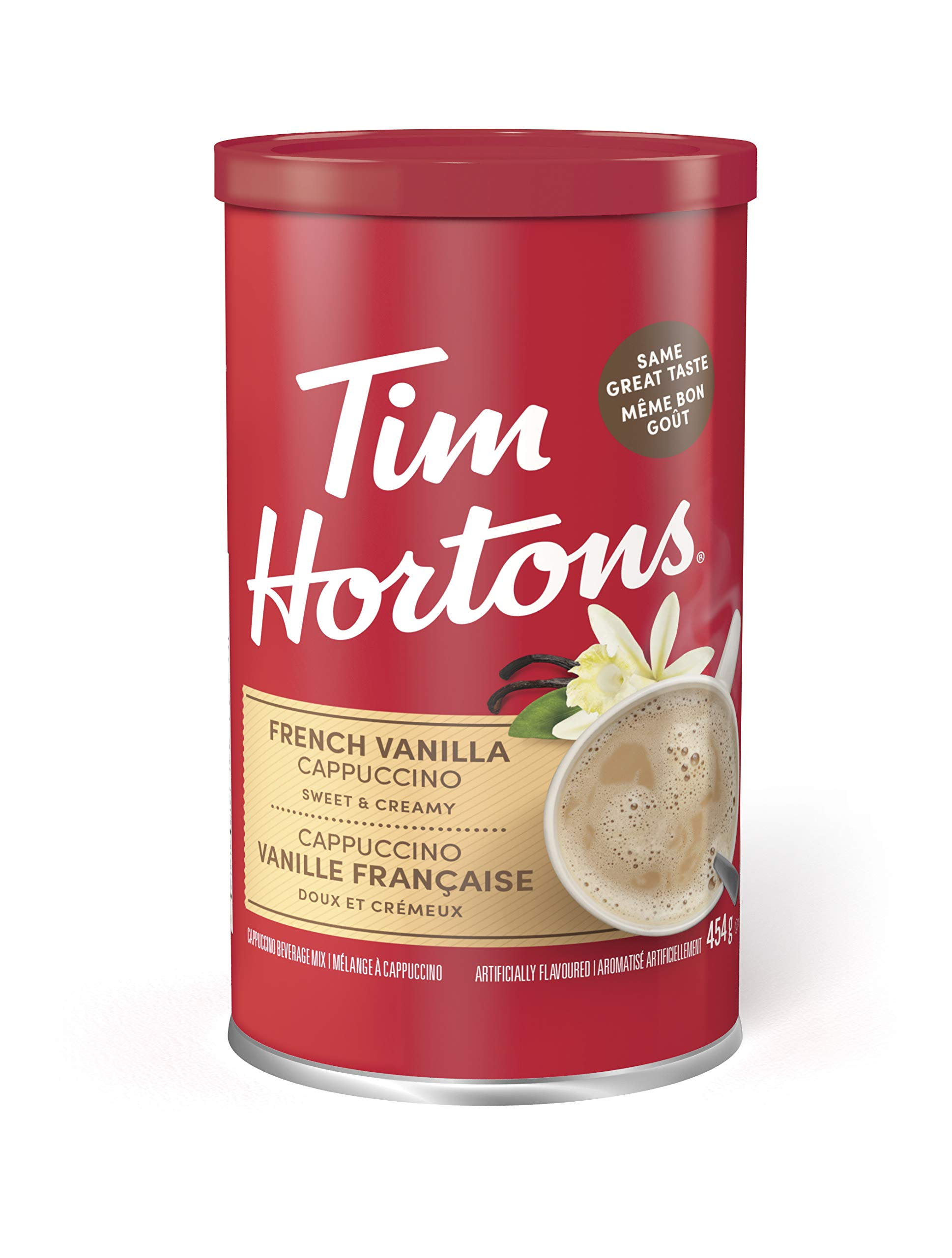 Tim Horton's Instant Cappuccino, French Vanilla, 16 Ounce