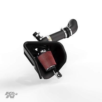 K&N Cold Air Intake Kit: High Performance, Guaranteed to Increase Horsepower: 2015-2020 Volkswagen (Arteon, Golf, Golf R, Golf SportWagen, GTI, Golf Alltrack) 2.0L L4, 69-9506TTK: Automotive