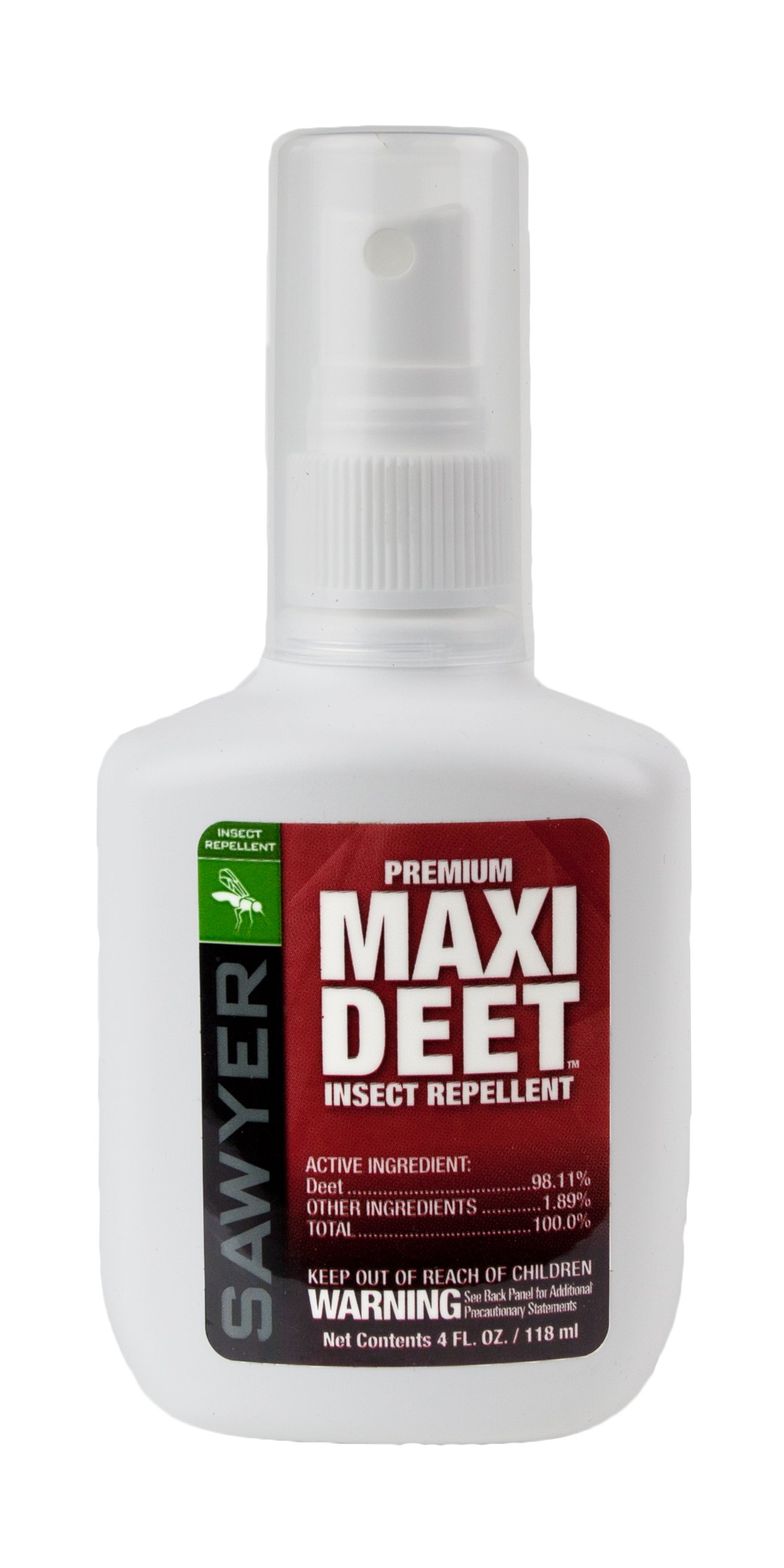 Sawyer Products Premium MAXI DEET, 100% DEET Insect Repellent