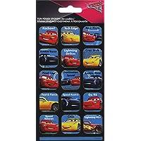 Paper Projects 9105379 Cars 3 glinsterende herbruikbare beloningsstickers, kleurrijk, 19,5 cm x 9,5 cm