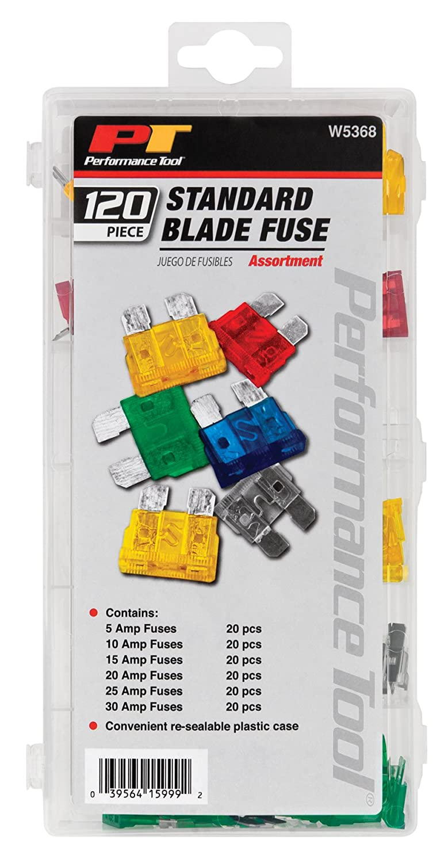 Performance Tool W5374 16-Piece Maxi Fuse Assortment