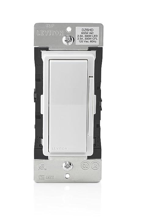 Leviton DZ6HD1BZ Decora Smart 600W Dimmer with ZWave Plus – Leviton In-wall Surge Protector Wiring-diagram
