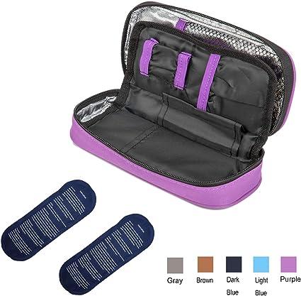 Apollo Insulin Cooler Bag Portable Insulated Diabetic Insulin Travel Case Cooler