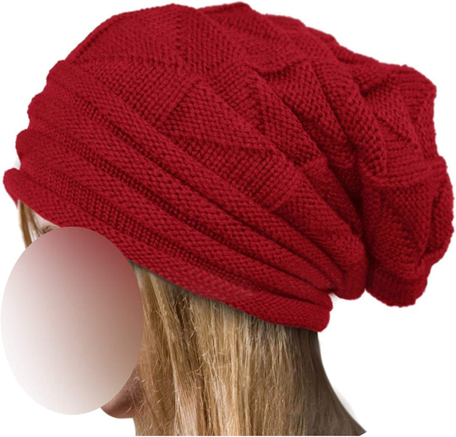 Hat Women Winter Wool...