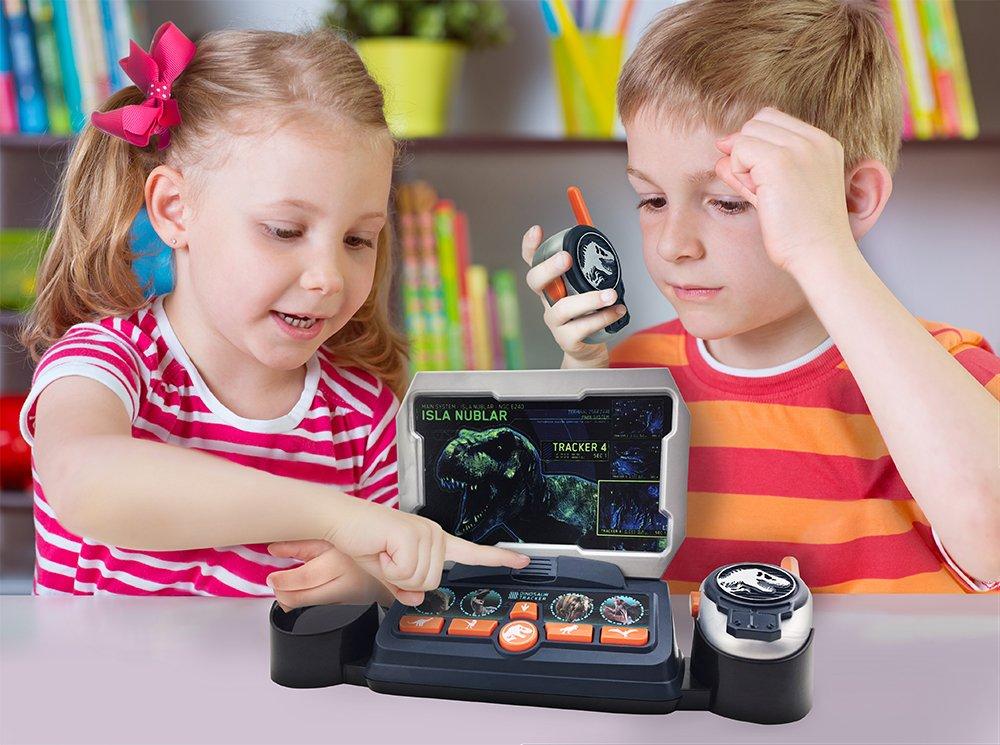 eKids Jurassic World 2 Command Center with Kid Friendly Walkie Talkies and Speech & Sound Effects by eKids (Image #4)