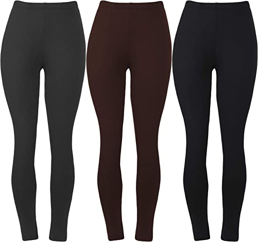 Women/'s Extra Soft Stretch Print Leggings Lightweight