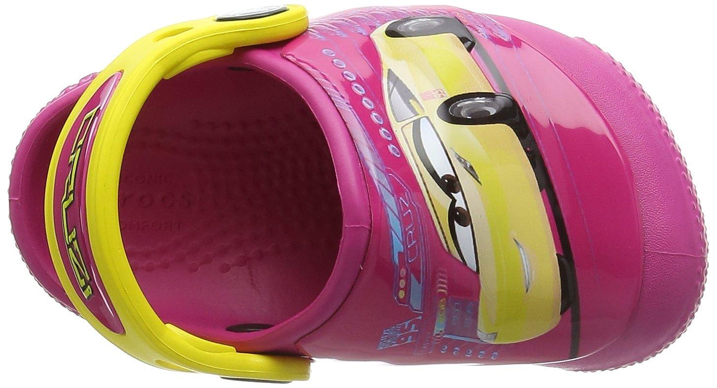 Bambini Sabot Unisex Crocs Fun Lab Lights Cars 3 Clog