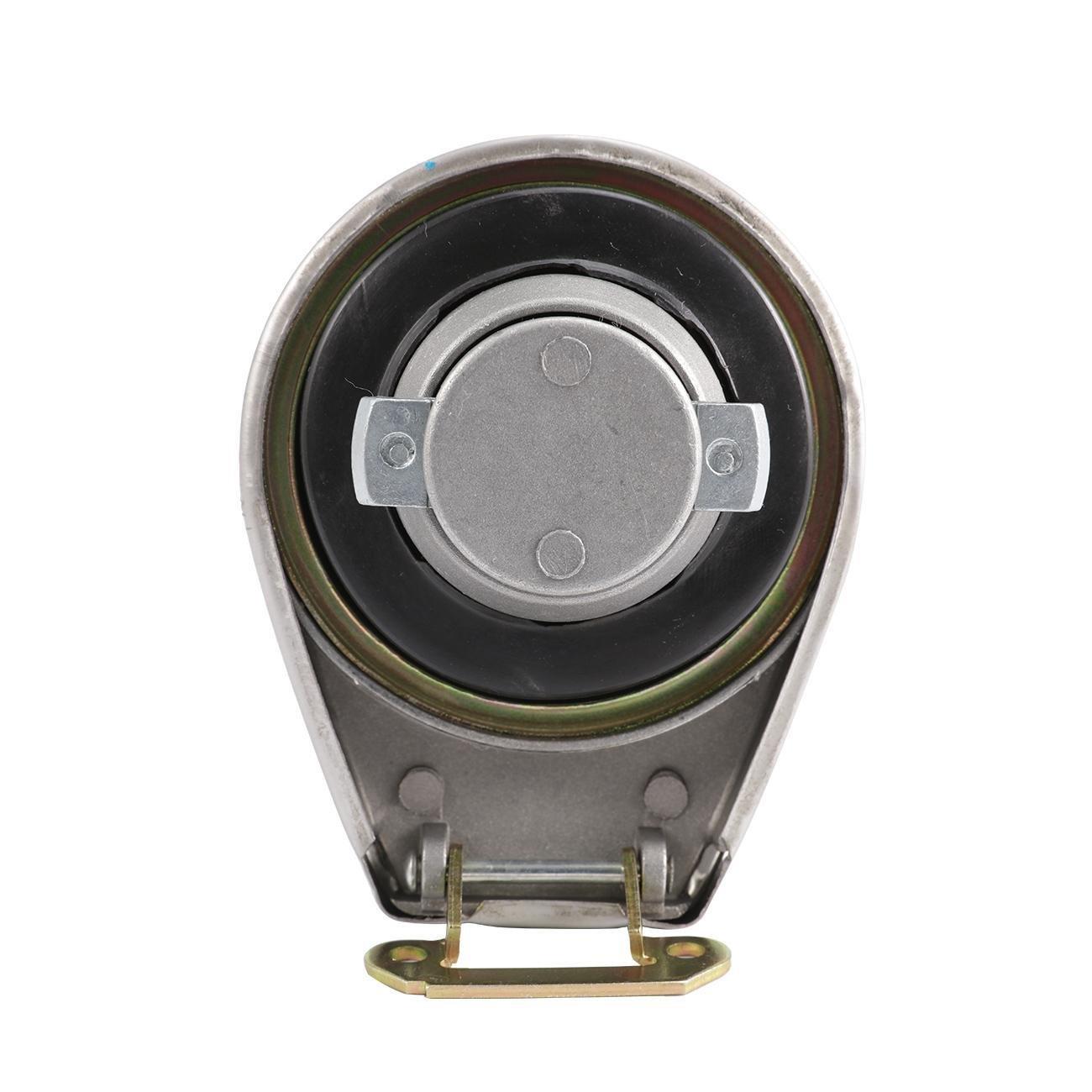 INNOGLOW Gas Fuel Tank Cap for Honda Petrol Locking Polished VF750C VF750 VF 750 700 VT500C Chrome