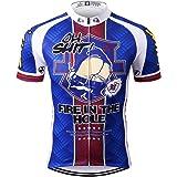 Thriller Rider Sports サイクルジャージ メンズ 男性自転車運動服装半袖 Fire in the Hole