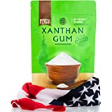 Made in USA Xanthan Gum (8 oz), Premium Quality, Food Grade Thickener, Non GMO, Gluten Free, Use in Cooking, Baking…