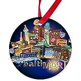 CafePress - Baltimore - Round Ornament