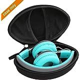 Aproca Hard Travel Storage Case for AILIHEN C8 / Tribit XFree Tune Headphones Folding Lightweight Headset (Black)