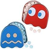 Pac Man Ghost Sours Display, Cherry/Blue Raspberry, 2.3 Pound