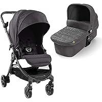 Baby Jogger 2044259 Baby Jogger City Tour LUX - Passeggino e navicella 2 in 1, leggero, pieghevole e portatile, colore: grigio granito