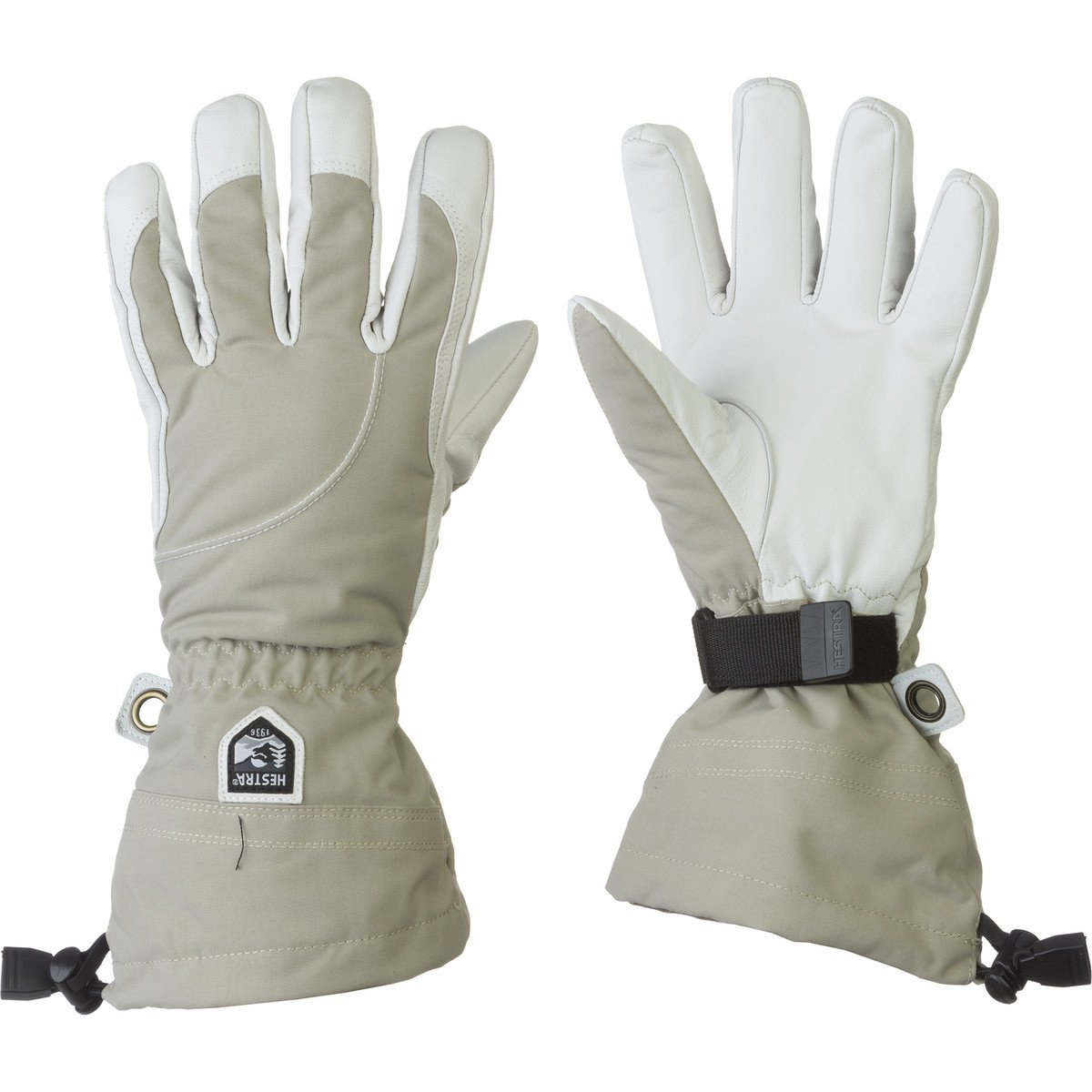 Hestra Women's Heli Gloves, Beige, Size 9 by Hestra