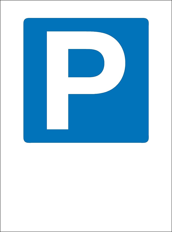 Panneau parking, plastique 1 mm, autocollant plastique 1mm Wichelhaus KG