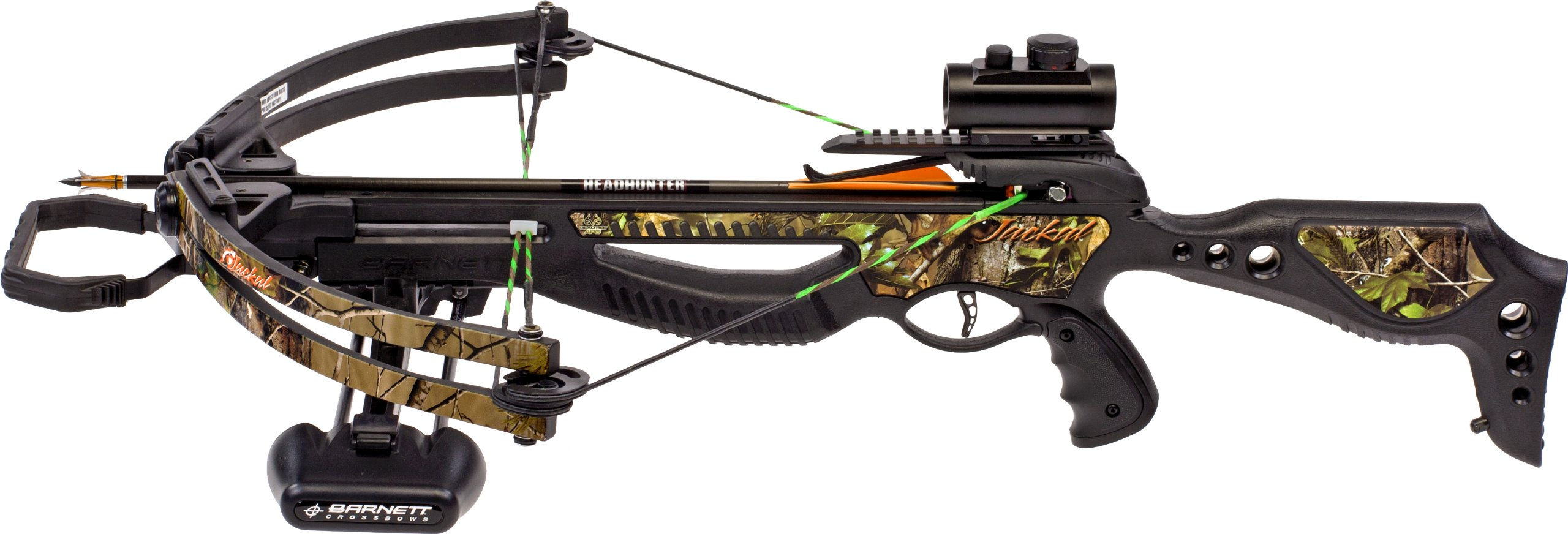 Barnett Jackal Crossbow Package (Quiver, 3 - 20-Inch Arrows and Premium Red Dot Sight) by Barnett (Image #2)