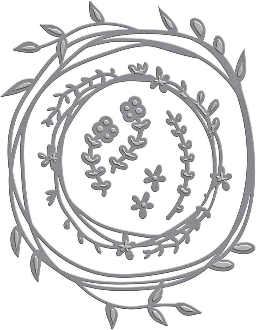 Spellbinders S4-572 Shapeabilities Woodland Wreath Etched/Wafer Thin Dies