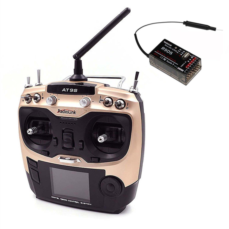 Hobbypower Radiolink &R9DS 2.4G AT9S R9DSラジコンシステム10CH送信機&受信機 (AT9S スペクトラム拡散:DSSSとFHSS (AT9S &R9DS Model Model) AT9S &R9DS Model B01IUVEDGM, アブチョウ:a74dcbdb --- itxassou.fr