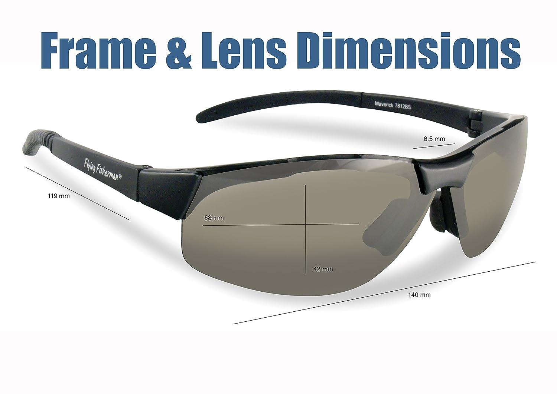26325f5b3e0 Flying Fisherman Maverick Polarized Sunglasses (Matte Black Frame ...