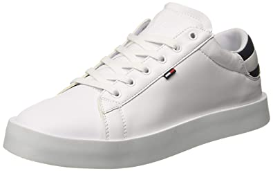 67925667d298 TOMMY HILFIGER Men s Retro Light White Sneakers-9 UK India (43 EU ...