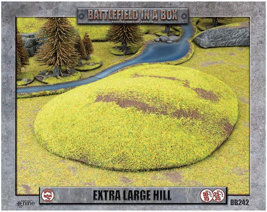 Extra Large Hill Battlefield in a Box