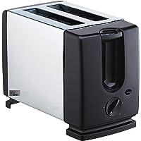 Star 750-Watt Auto Pop-up Toaster (Black/Silver)