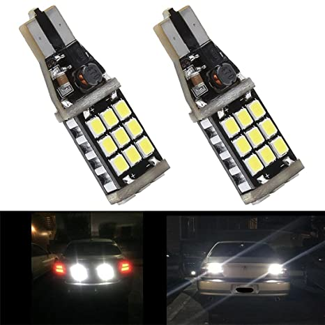 T10 Bombilla LED Super brillante 1000LM 6000 K LED Canbus Libre De Errores 912 921 T10