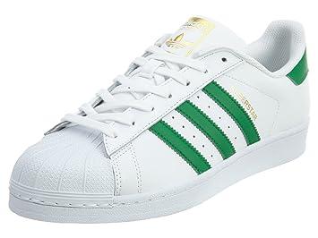 purchase cheap 09268 d92f3 adidas Superstar - Zapatillas para Hombre, Blanco - (FTWBLA Verde Dormet)