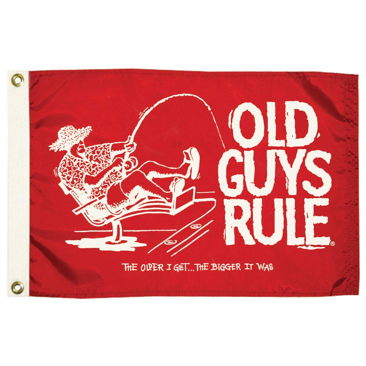 Inc. Taylor Co Taylor Made Products 5636 Old Guys Rule the Older I Get Flag Nelson A