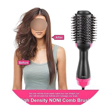 Amazon.com: Cepillo secador de pelo de 1 paso, 1000 W, 2 en ...