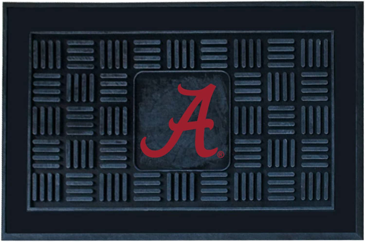 FANMATS NCAA University of Alabama Crimson Tide Vinyl Door Mat