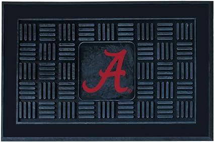 Amazon Com Fanmats Ncaa University Of Alabama Crimson Tide Vinyl Door Mat Doormats Automotive