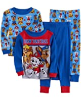 Nickelodeon Boys Paw Patrol Rubble, Chase, Marshall & Skye Toddler 4-Piece