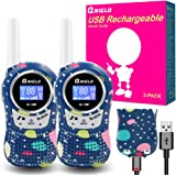 Walkie Talkies for Kids Rechargeable, Toys for 3-12 Years Old Kids Walkie Talkies, 22 Channels 2 Way Radio Walky Talky Toys f