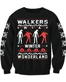 Walkers In A Winter Wonderland Zombie Christmas Sweatshirt Jumper