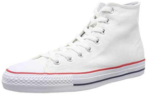 3db9966c307d Converse Unisex Chuck Taylor All Star Pro Hi White Red Insignia Blue Basketball  Shoe