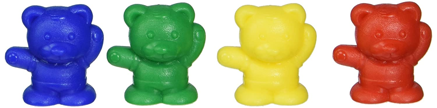 School Smart Backpack Bears Counters Set of 300 Assorted Colors