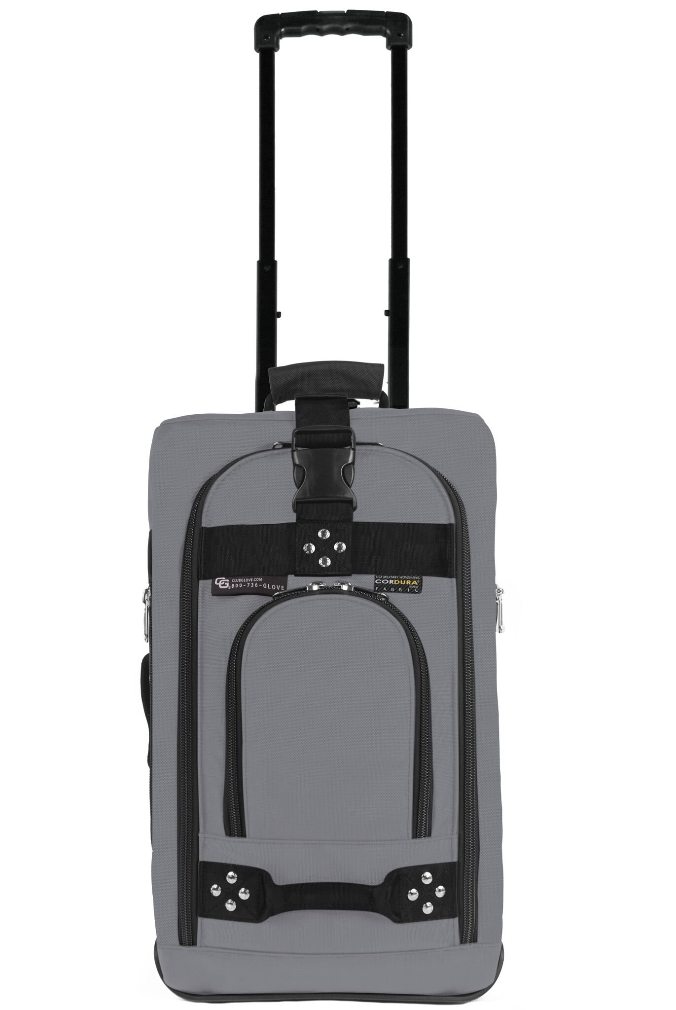 Club Glove Carry On Bag III Travel Luggage (Charcoal)