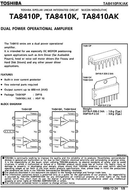 circuito integrato ta8410ak